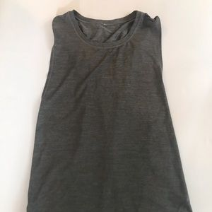 Lululemon gray tank top